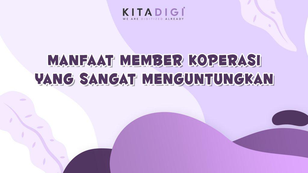manfaat member koperasi