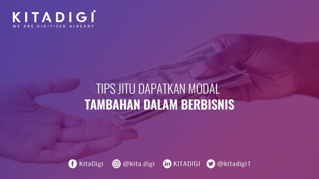 tips mencari modal usaha