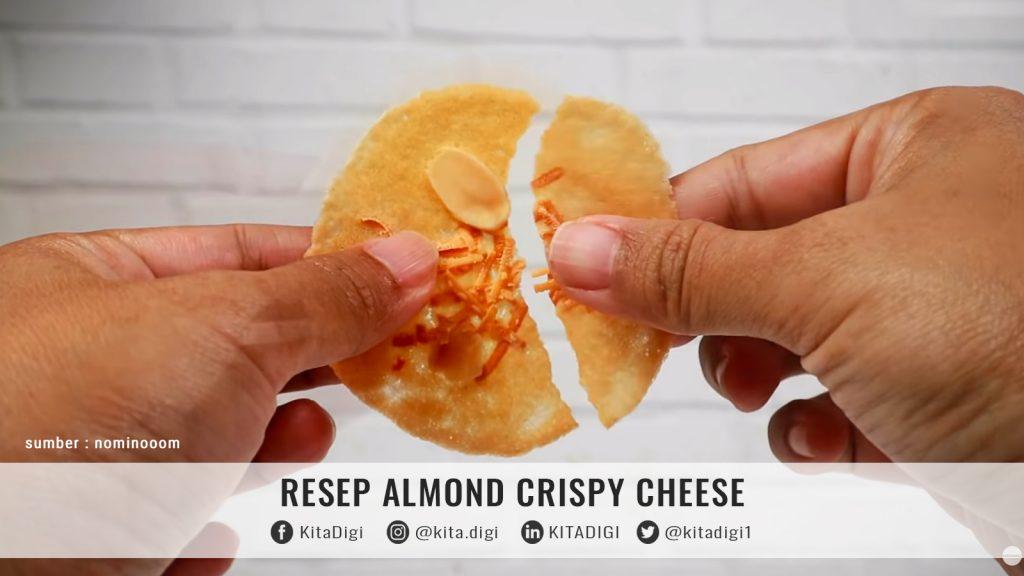 resep almond cheesse