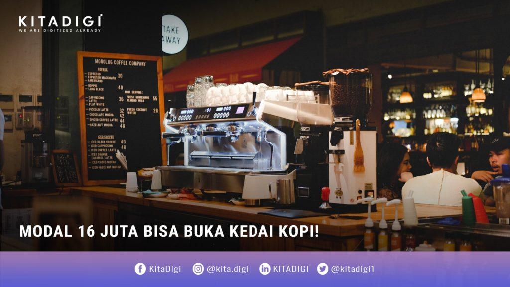 tips membuka kedai kopi