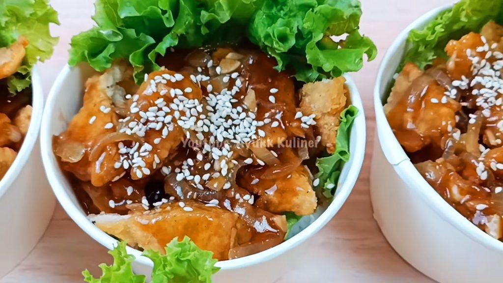 rice bowl nasi ayam
