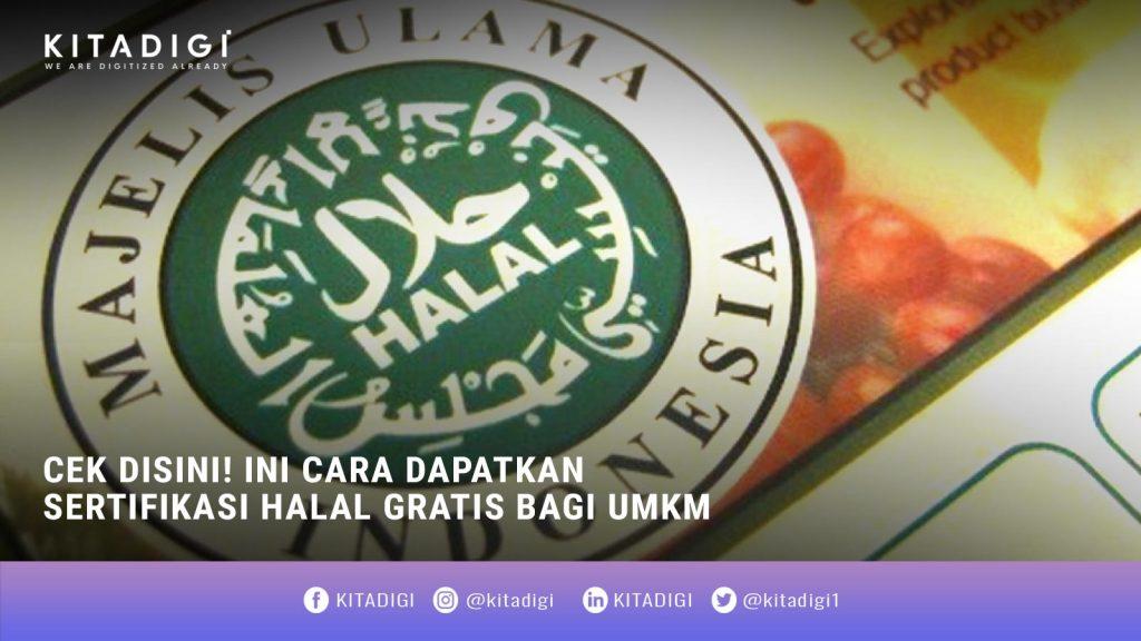 Cara Dapatkan Sertifikasi Halal
