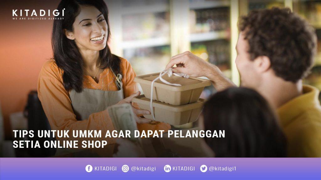 pelanggan online shop