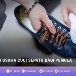 Usaha cuci sepatu