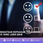 Meningkatkan kepuasan pelanggan